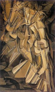 Duchamp_-_Nude_Descending_a_Staircase  1912