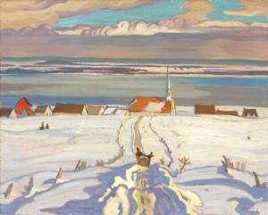 Alexander Young Jackson, Winter, Quebec, (1926)