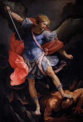 The Archangel Michael defeating Satan, Guido Reni, 1635.