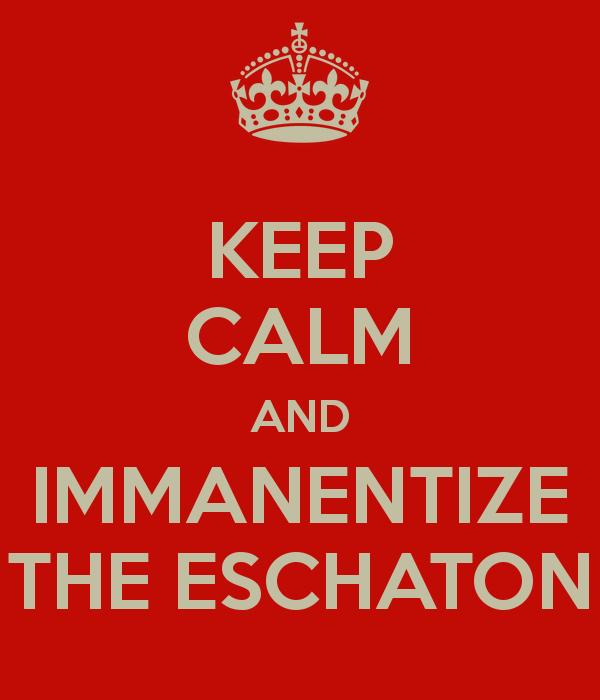 Eschaton Now
