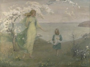 A Vision of Spring - Thomas Millie Dow