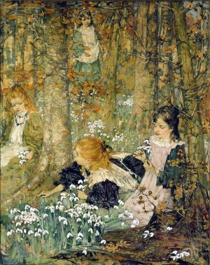 The Coming of Spring - E.A. Hornel