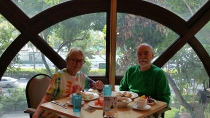 Raffles Town Club breakfast: Singapore