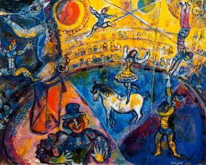 the-circus-horse-by-marc-chagall