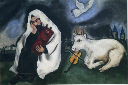 """Solitude"" by Marc Chagall, 1933"