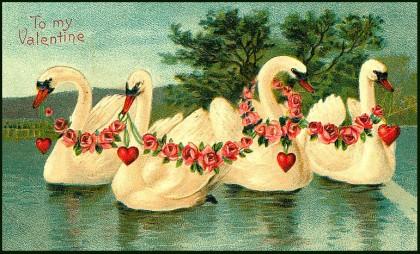 vintage-valentine-with-swans