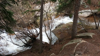 Upper Maxwell Falls, 2015
