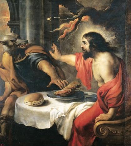 Lycaon, jan cossiers, museo del Prado