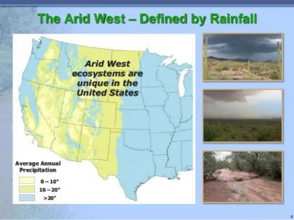 arid west