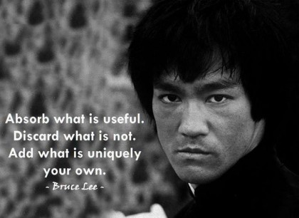 Criteria by Bruce Lee
