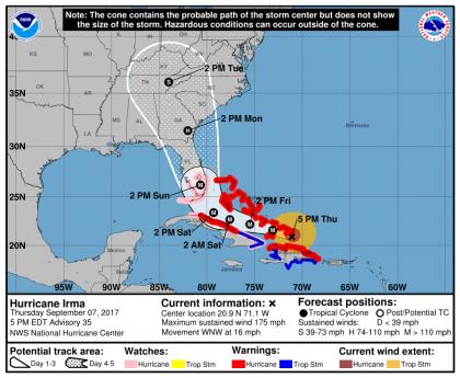Irma sept. 7