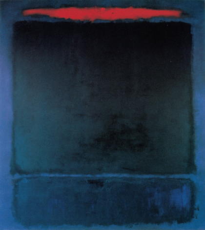 No. 118 1961 by Mark Rothko