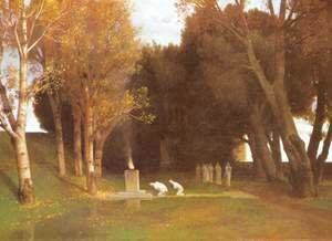 The Sacred Wood, Arnold Bocklin, 1882
