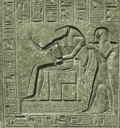 thoth writes