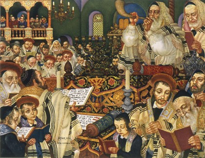 Arthur Szyk (1894-1951). The holiday Series, Rosh Hashanah (1948), New Canaan,CT