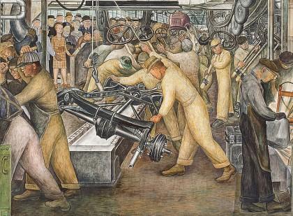 Diego Rivera, Detroit mural