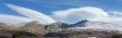 Mt. Bierstadt, Mt. Evans from the Guanella Pass summit
