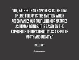 Rollo May, Joy