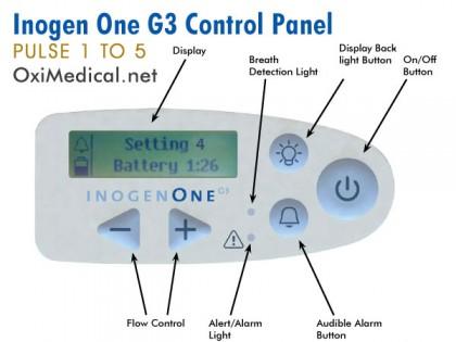 inogen-one-g3-control-panel