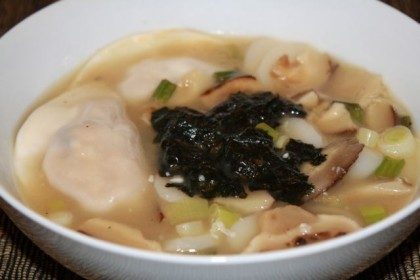 rice cake soup ddeok-kook
