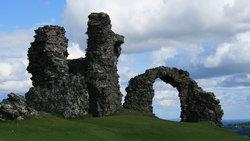 Castle Dinas Bran, Llangollen, North Wales