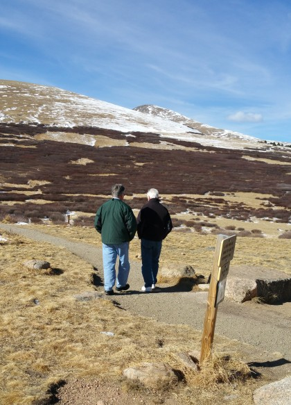 Bill and Tom, Guanella Pass