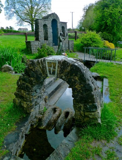 bridgit's holy well, Killdare, Ireland