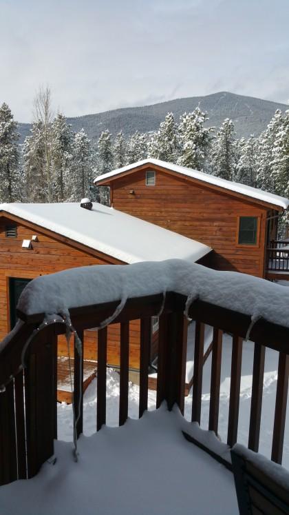 apres snow, Monday