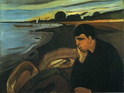 Melancholy, Munch 1894