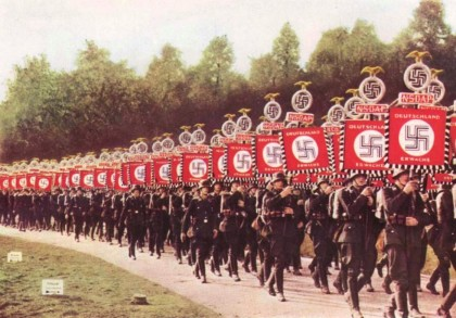 Nazis+on+parade.