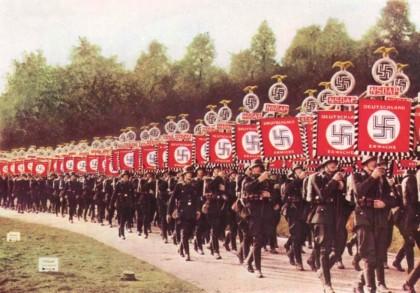 Nazis+on+parade.
