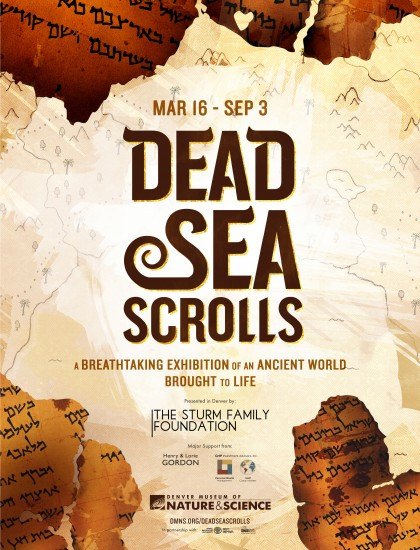 The Dead Sea Scrolls exhibition runs from March 16 to Sept. 3, 2018 at the Denver Museum of Nature & Science. The exhibition showcases ancient artifacts predominantly from Israel. Photo courtesy of Denver Museum of Nature & Science.