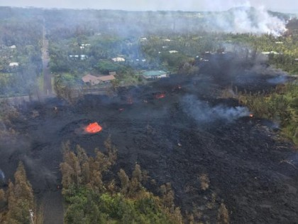 kilauea fissure 7, opening on May 5th