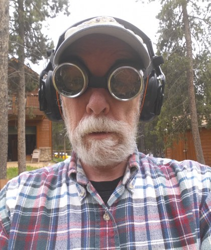 the aging steam punk lumberjack