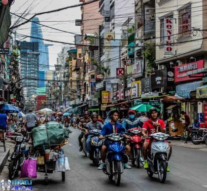 Israeli Abroad, Saigon Bui Vien Street, a backpackers' paradise