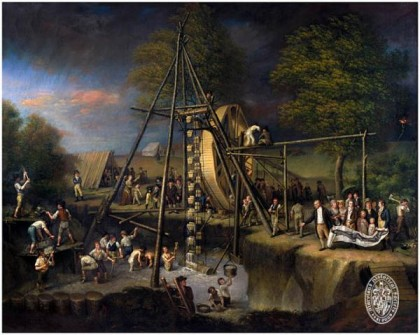 Exhumation of the Mastodon: Peale, Charles Willson, 1741-1827.