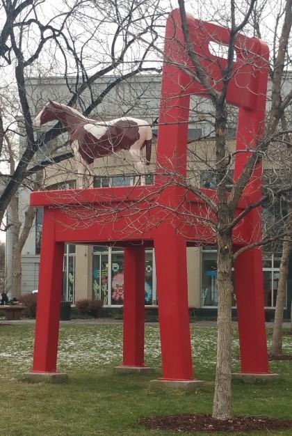 Denver Public Library last week