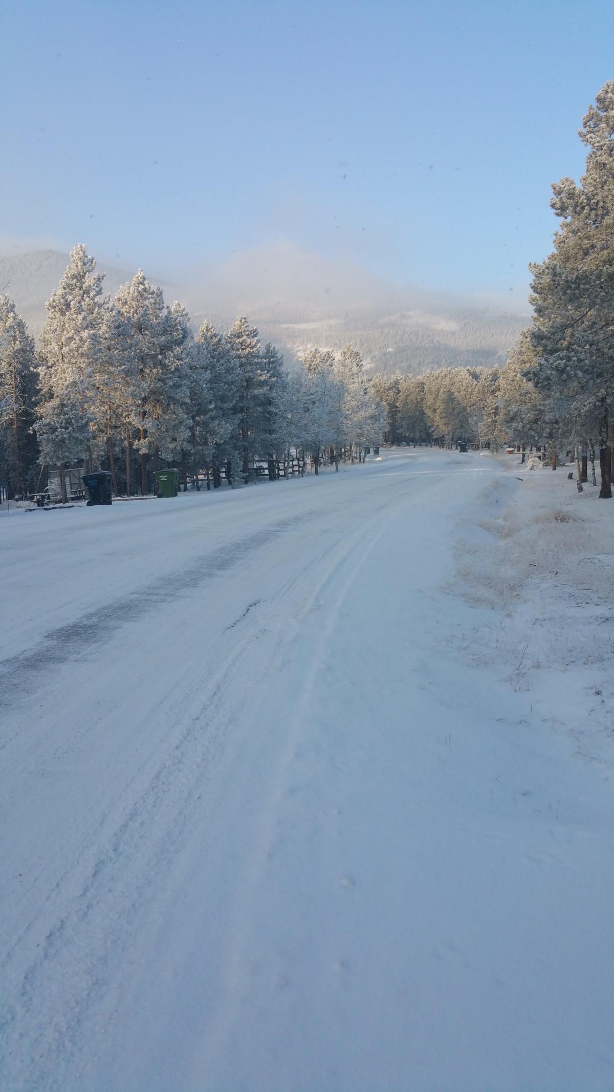 Black Mtn. Drive, toward Evergreen