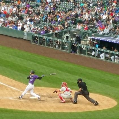 Swing, batter