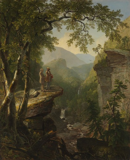 Kindred Spirits by Asher Durand William Cullen Bryant and Thomas Cole