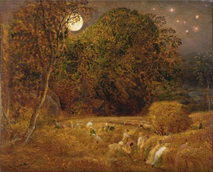 Samuel Palmer, The Harvest Moon (c 1833)